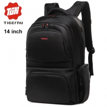 Рюкзак Tigernu T-B3140 чёрный с отделением для ноутбука 14 дюймов