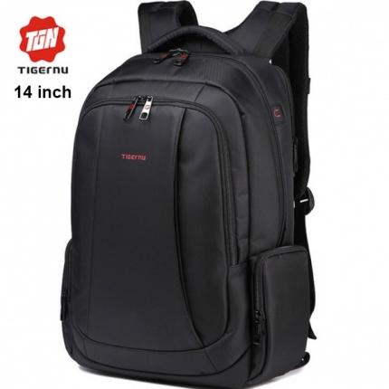 Рюкзак Tigernu T-B3143 чёрный с отделением для ноутбука 14 дюймов
